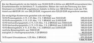 Rvg Abrechnung : richtige anwendung der brago richtige abrechnung bei prozesstrennung ~ Themetempest.com Abrechnung