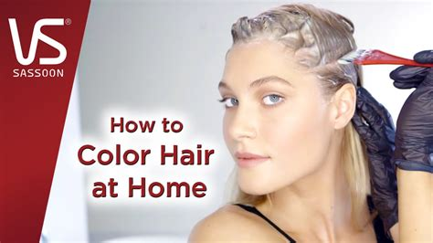 how to color your hair at home hair dye tips how to color your hair at home vidal