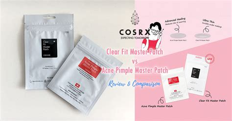 cosrx clear fit master patch cosrx clear fit master patch vs acne pimple master patch