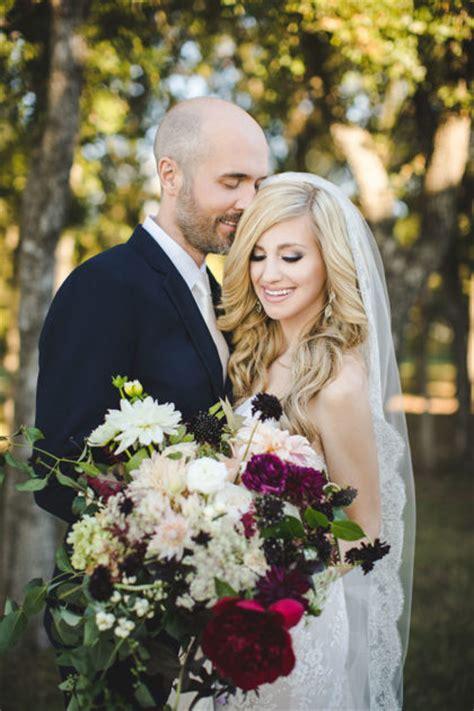 rachel lamb  joshua browns romantic fall dfw wedding