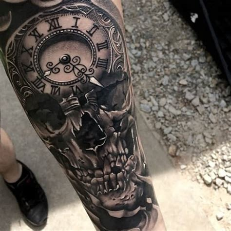 clock tattoos ideas