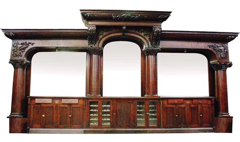 Back Bar Furniture by Vintage Saloon Back Bar Time Saloon Looks