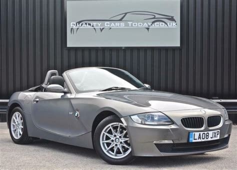 best auto repair manual 2008 bmw z4 spare parts catalogs 2008 bmw z4 2 5i 2 5 se roadster convertible manual stratus grey in sheffield south