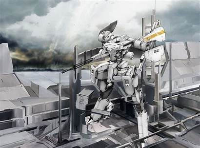 Mech Wallpapers Steel Battalion Mecha Fog War