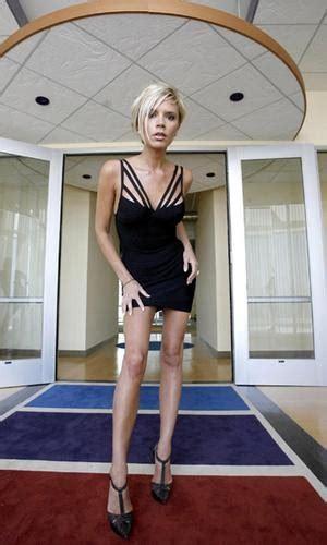 victoria beckham anorexic