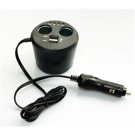 chargeur allume cigare avec 2 ports usb 12v 24v 8a prise allume cigare norauto sound