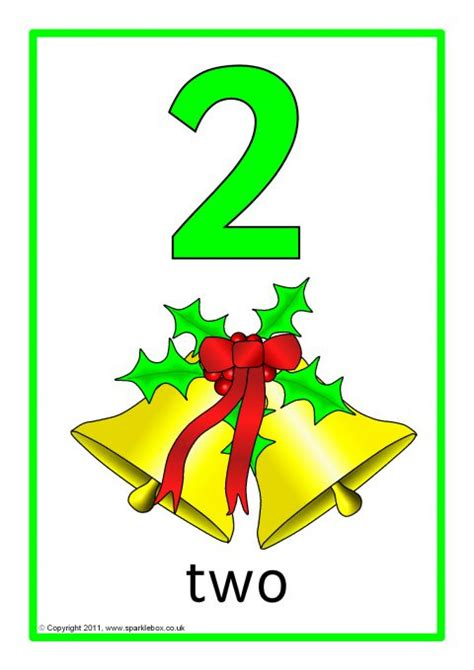 christmas number  word posters   sb sparklebox