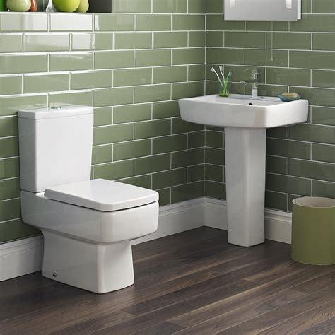 bliss  piece bathroom suite cc toilet  basin