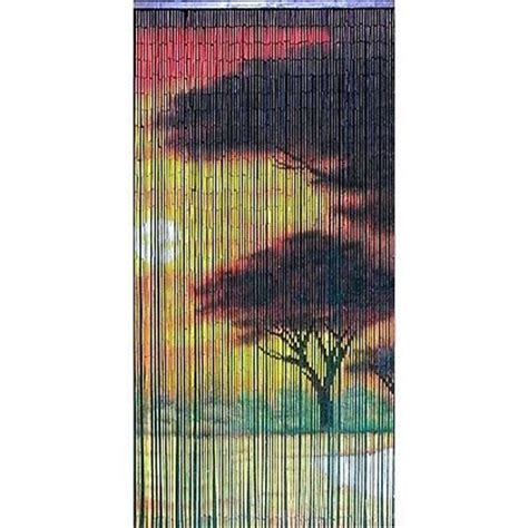 Beaded Door Curtains Walmart by Painted Bamboo Door Curtain Bamboo Curtain Window