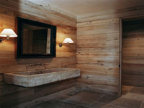 Wood Floor Decorating Ideas, Barn Wood Bathroom Design
