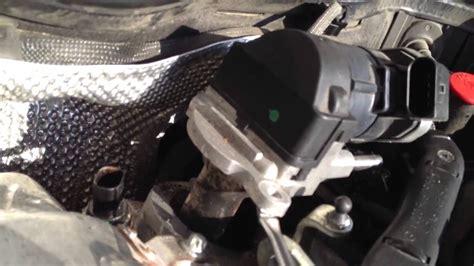 mb  egr valve removal pt  youtube