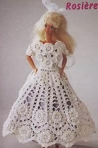 1000 images about barbie jurkje haken on pinterest With robe de barbie au crochet avec explication en francais