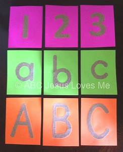 tactile letters and number abc jesus loves me With tactile sandpaper letters