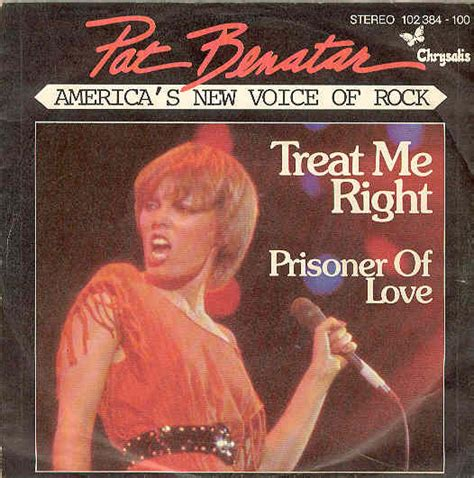 pat benatar treat me right records lps vinyl and cds musicstack