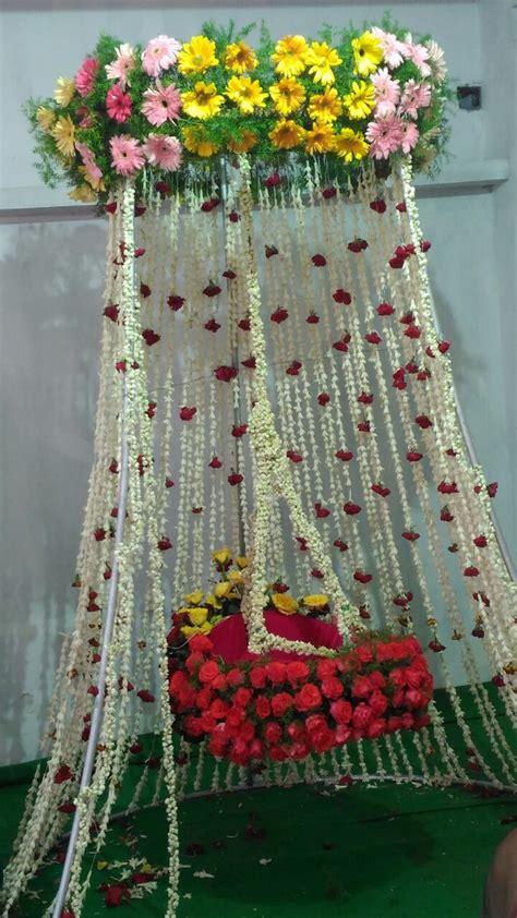 pin  chaya teegala  baby naming ceremony decoration