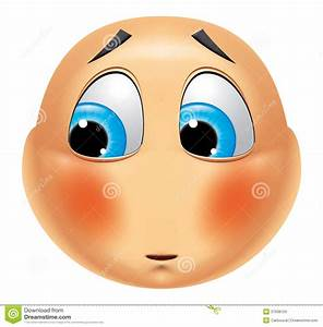 Emoticon Ashamed Stock Photos - Image: 37938153
