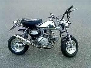 Honda Monkey 125 : honda monkey 125 cc skyteam youtube ~ Melissatoandfro.com Idées de Décoration