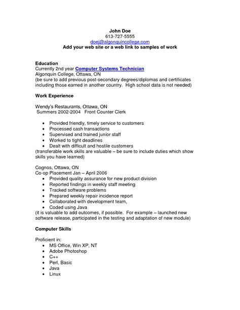 pin oleh jobresume  resume career termplate  cv