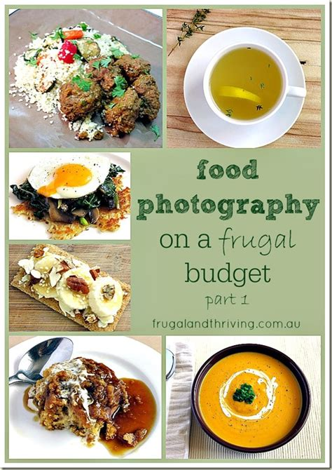 frugal food photography part   simple set