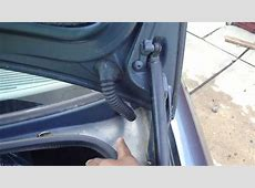 E39 Trunk Lid Open Fix YouTube