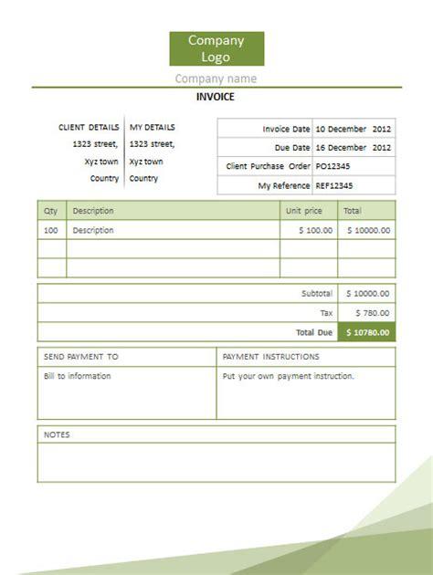 invoice powerpoint templates