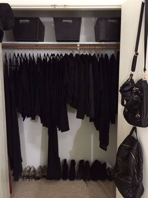 Black Clothes Wardrobe by Black Is A Disease You Can Never Get Rid I Might Say