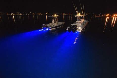 fishing boat lights fishing at pontoon deck boat magazine