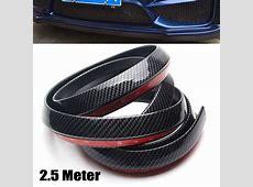 25M Carbon Fiber Car Styling Strips Sticker Body Kit Wrap