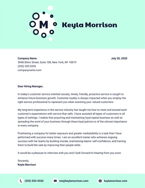 Cover Letter Template by 20 Cover Letter Templates To Impress Employers Guide
