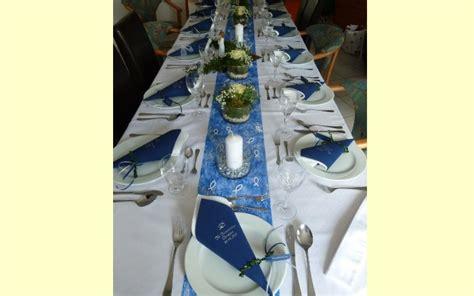 Tischdeko Kommunion Blau Tischdeko Kommunion Konfirmation Blau Set