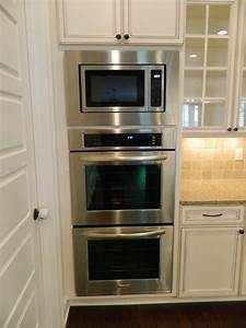 Double Oven With Microwave Oven In Kitchen Nelson Http