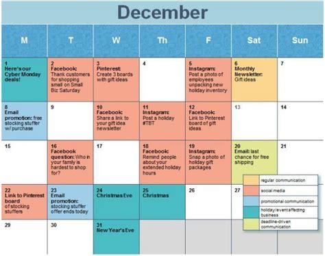 Social Media Calendar Template Planning For 2017 Create A Social Media Calendar