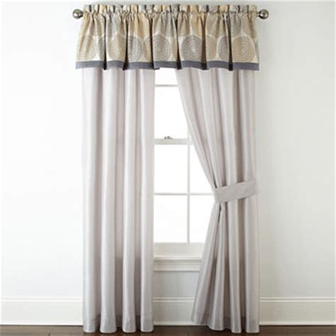 j celeste curtains home expressions celeste 2 pack curtain panels jcpenney