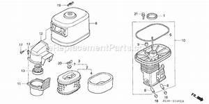 Honda Gx340 Parts List And Diagram
