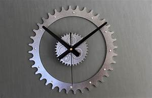 Mechanical gear wall clockoriginal genuine true 3d for Mechanical gear wall clock
