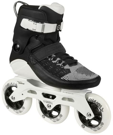 inline skates test testing the swell 110 fitness skates by powerslide skating