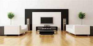The Elegant and Minimalist Ideas of Black and White Living ...