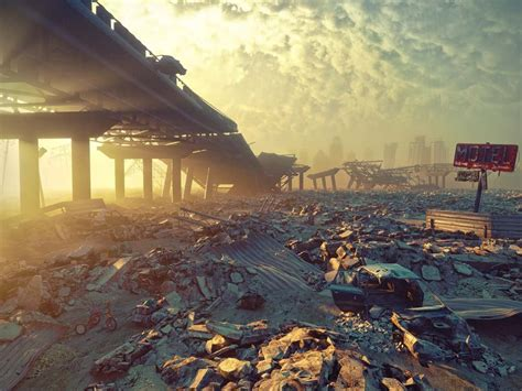 trump dystopian nightmare nuclear war climate change