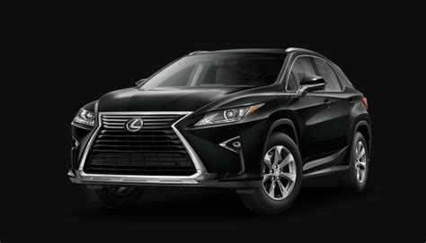 lexus rx  xl colors release date redesign price