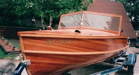 Lowe Fishing Boats Kijiji Ontario by Custom Made Giesler Cedar Strip Boat For Sale 18 Ft