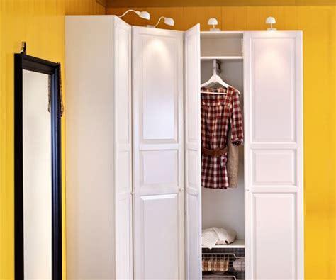 notre chambre dressing the idea of a corner wardrobe