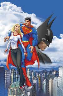 Michael Turner Batman Superman and Supergirl