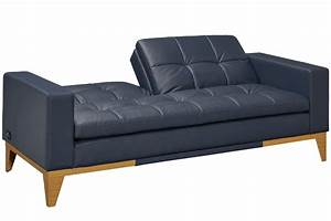 convertible sofa bed relaxalounger futon the futon shop With bonded leather sofa bed