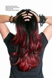 Ombré Hair Rouge : black and red ombre hair tumblr google search hair ~ Melissatoandfro.com Idées de Décoration