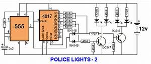 Schematic For Flashing Police Lights