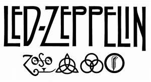 Wandtattoos - Wandaufkleber Musik Led Zeppelin Rock von ...