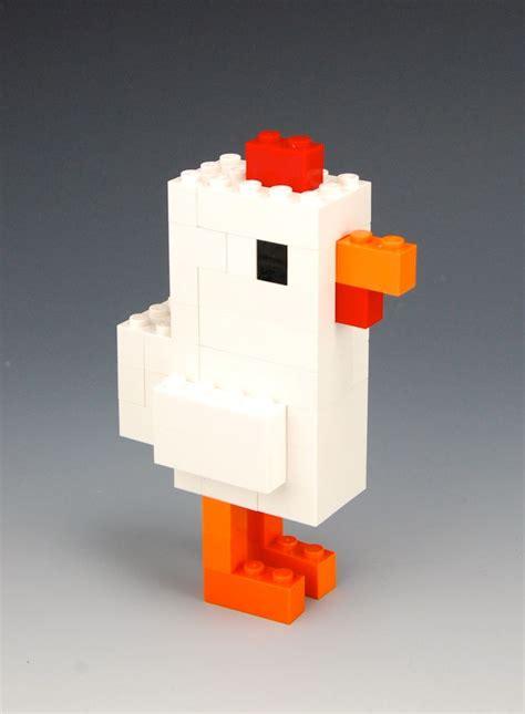 lego crossy road chicken mini lego architecture