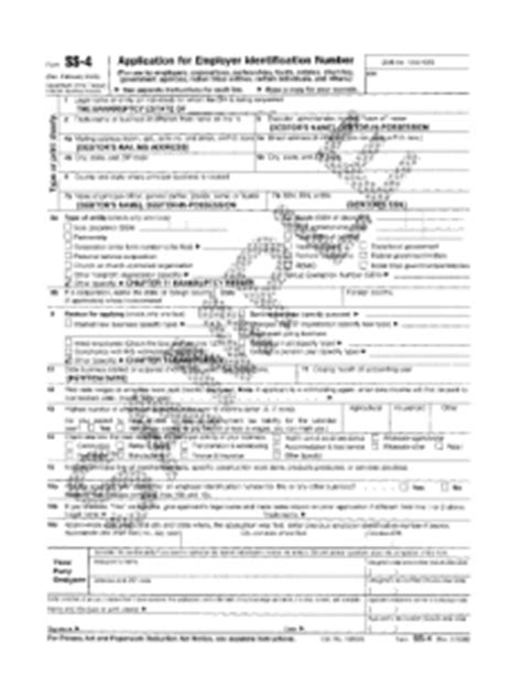 finding a business s form 990 what is irs form ss 4 obtain your irs ein ss4 online