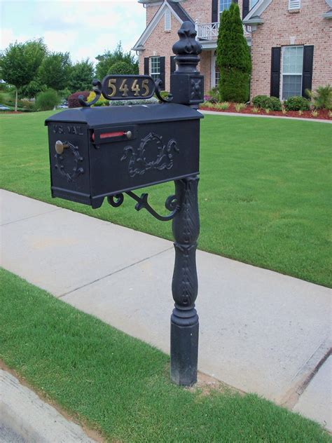 Decorated Mailboxes - new mailbox custom metal mailboxes steel any subdivision