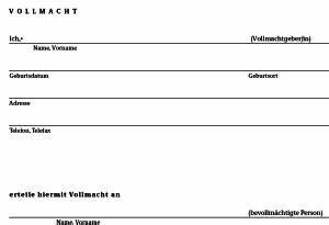 Einverständniserklärung Reise Kind Muster : vorsorgevollmacht formular kostenlos zum ankreuzen ~ Themetempest.com Abrechnung